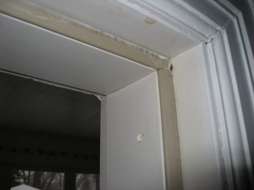 porch door weatherstripping